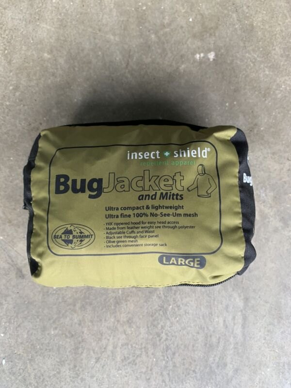 Sea to Summit Bug jacket and mitts Large