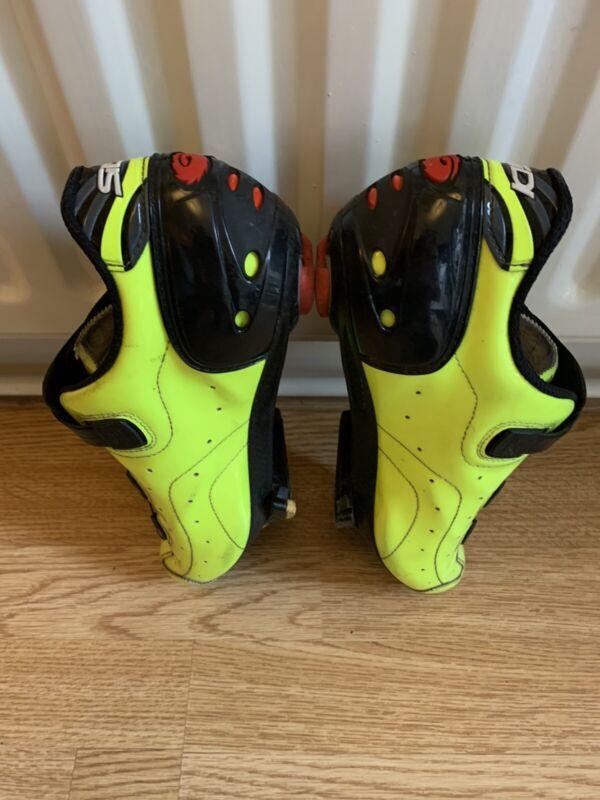 Sidi Kaos Flouro Cycling Shoes  - Size Eu 45 UK 10.5