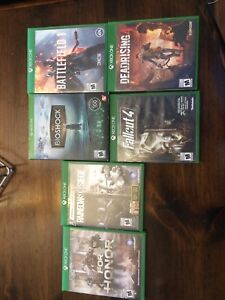 Assorted Xbox one games, great condition!