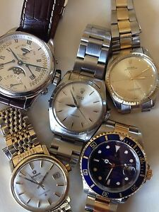 WTB VINTAGE WATCHES CASH PAID Perth Perth City Area Preview