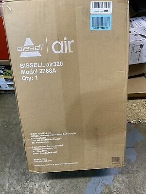 BISSELL Air 320 Air Purifier - White