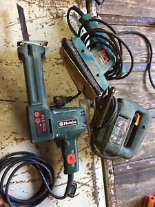 $40 at Newtown. Metabo recipro saw and ryobi sander. Annandale Leichhardt Area Preview