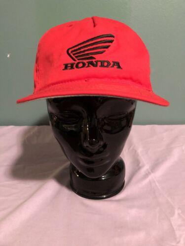 VINTAGE HONDA MOTORCYCLES HAT BLACK SNAPBACK ADJUS