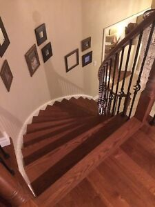 Stairs, Laminate Hardwood Floor - 365 773 3891