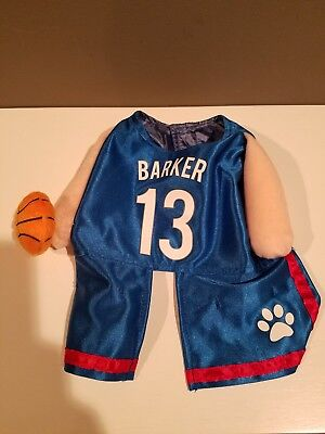 Basketball Player Dog Halloween Costume Barker 13 - Small (Basketball Halloween Costume)