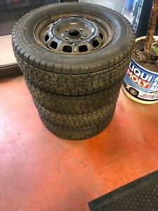 175 70 r 13 Toyota rims and tires