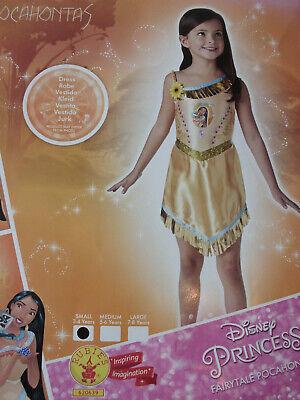 Pocahontas – Kostüm Mädchen 3 – 4 Jahre