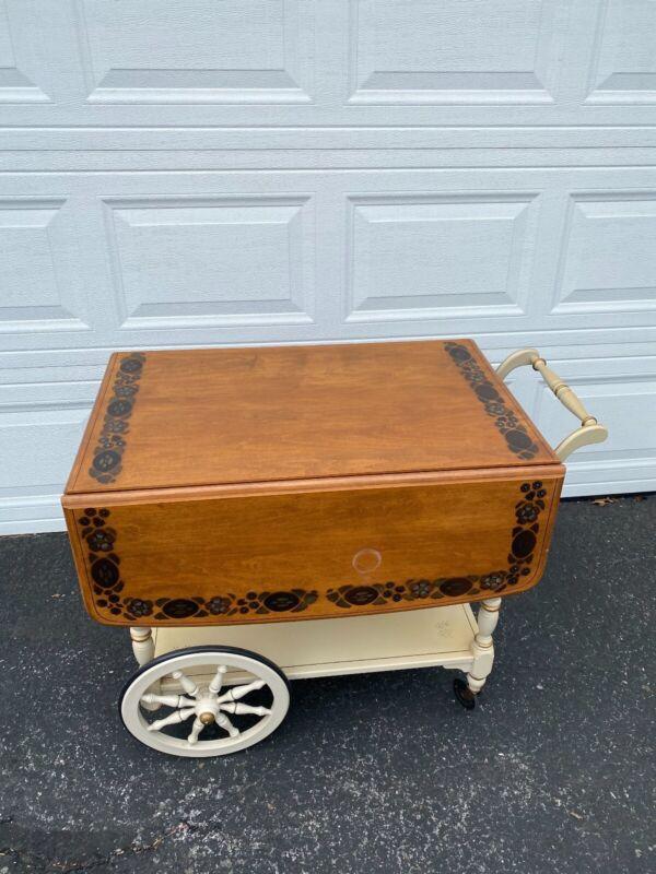Ethan Allen Tea/Bar Cart (Very Sturdy)