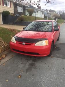 2001 Honda Civic FOR PARTS CAR ONLY!