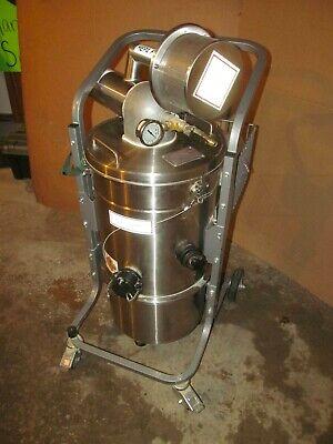 Tiger-vac Ss-20dt Re Hepa Mfs Vacuum Cleaner For Explosive Atmospheres