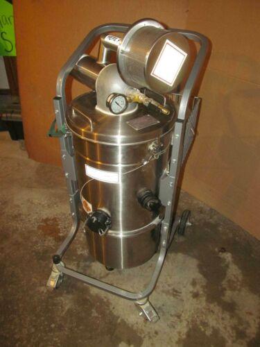 Tiger-Vac #SS-20DT RE HEPA MFS Vacuum Cleaner For Explosive Atmospheres
