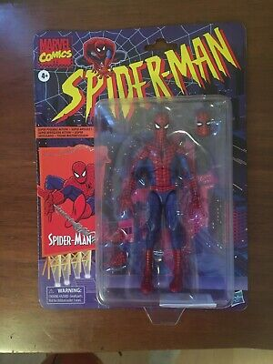 Marvel Legends Spider-Man Retro wave 1 Hasbro In Hand Same Day Shipping