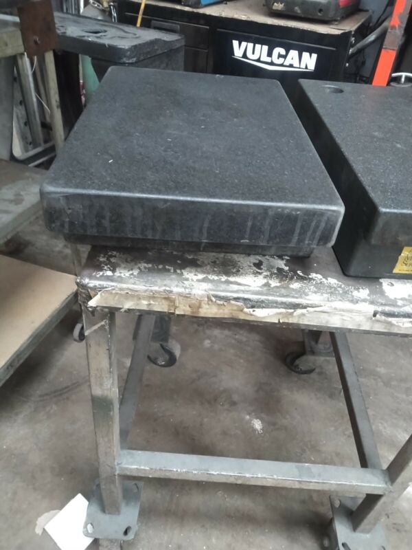 Granite surface plate 12x18x4