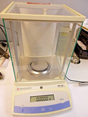 Denver Instrument Apx-100 Balance Scale Max 100g D 0.1mg W Rs232 Port