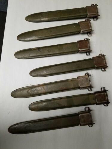 "GARAND M7 SCABBARD MARKED ""USM7"" FOR 10""  BAYONET ITEM #USM7-33"