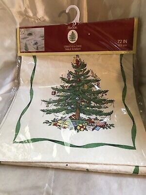 spode christmas tree Table Runner
