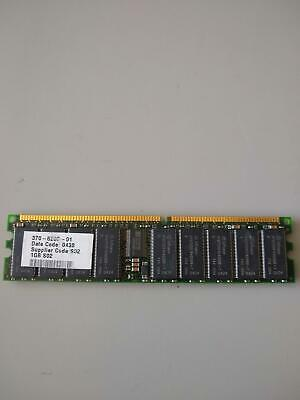 Sun Microsystems 370-6203-01 1GB DDR 266 CL2 ECC Reg PC2100R SDRAM Memory