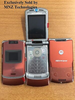 New Genuine Motorola RAZR V3xx (Unlocked) 3G Flip Bluetooth Camera Mobile Phone