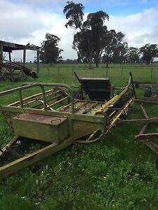 Tractor Hay Bale Feed out wagon Arcadia Outer Shepparton Preview