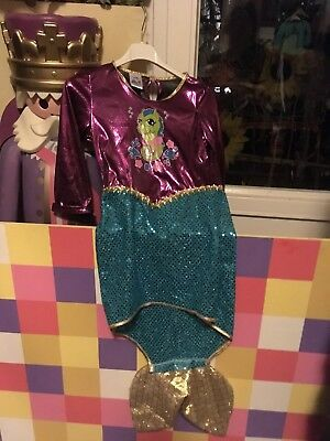 Supersüsses Meerjungfraue Kostüm Kinder 116 verkleiden N8 ()