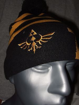 The Legend Of Zelda Gold Triforce Symbol Logo Link Beanie Hat Nintendo NES Game](Link Hat)
