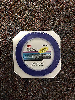 3M 6404 FineLine Tape **Vinyl Striping** 1/8 inch x 36 yards,3M-06404,6404 1 8 Inch Tape