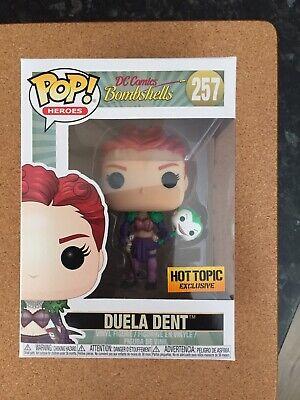 Funko Pop DC Comics Bombshells Duela Dent Hot Topic Exclusive #257