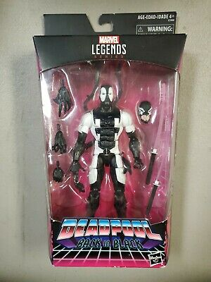 Marvel Legends Deadpool Back in Black Action Figure