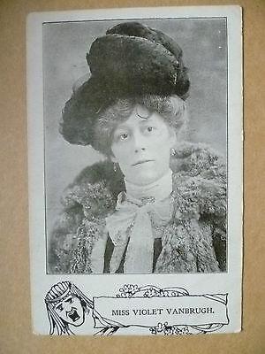 1905 Used Postcard- Actress MISS VIOLET VANBRUGH + Stamp