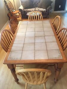 Dining Table & Wooden chairs