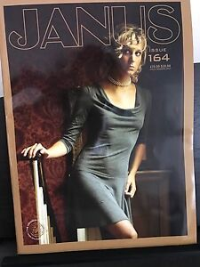 Glossy Janus collectible magazines