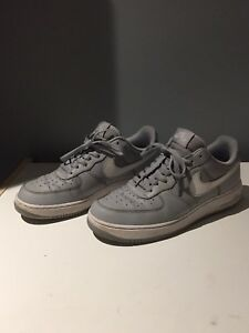 Nike Air Force One grey size 9