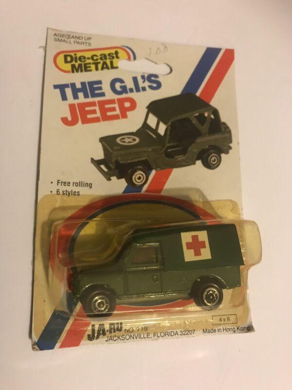 Die Cast Metal  The G.l.s Jeep  Ja-ru No.719