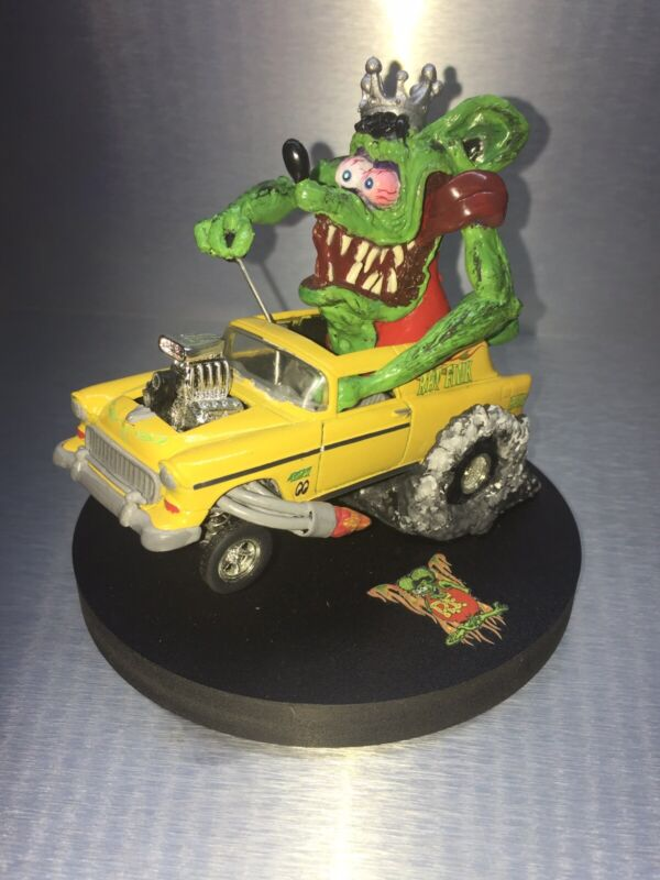 55 Chevy Rat Fink Custom Nomad 1/43 Scale Die cast  Awesome
