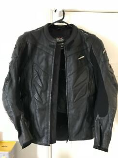 M2R Leather Motorbike Jacket