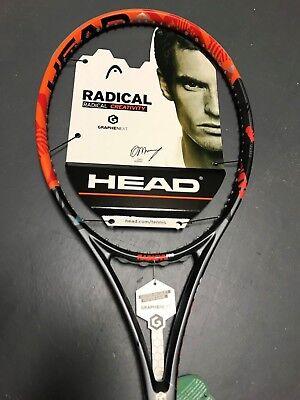 "Head Graphene XT Radical Pro Tennis Racquet Grip Size 4 3/8"""