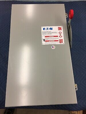 New Eaton Cutler Hammer Dh364ngk 200 Amp 600 Volt 3 Phase Fused Disconnect