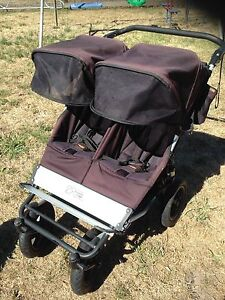 Mountain Buggy Duo Double Pram Snake Valley Pyrenees Area Preview