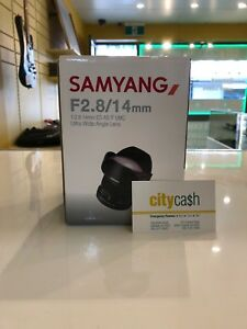 Samyung F2.8/14mm Ultra Wise Angle Lens Adelaide CBD Adelaide City Preview