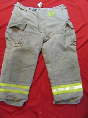 Morning Pride Firefighter Turnout Bunker Pants 44 X 28 Fire Gear Halloween
