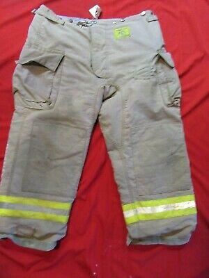 Morning Pride Firefighter Turnout Bunker Pants 44 X 28 Fire Gear Halloween