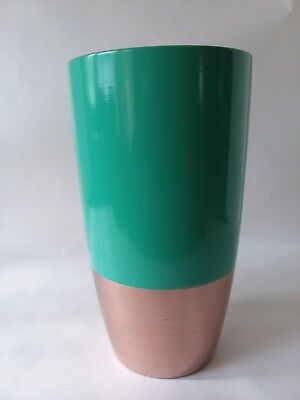 Proflowers Vase Flower Vase Metallic Gold Green Ceramic Vase 9  X 5