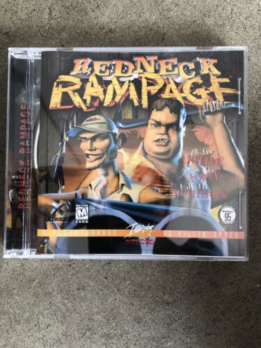 Computer Games - REDNECK RAMPAGE THE EARLY YEARS PC COMPUTER GAME. EXCELLENT CONDITION!