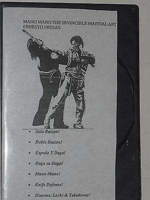 Учебный материал ARNIS/KOMBATAN - ERNESTO PRESAS