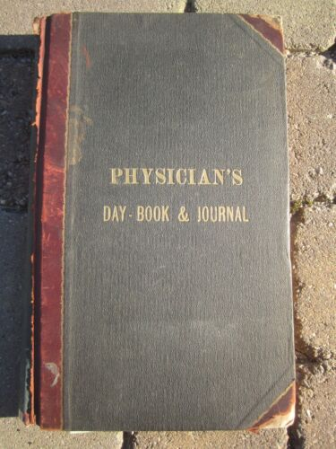 1911   PHYSICIANS   DAY   BOOKS   &   JOURNALS