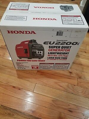 Honda Super Quiet EU2200i 2,200W Portable Inverter Generator