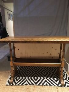 Antique hall table sofa table.