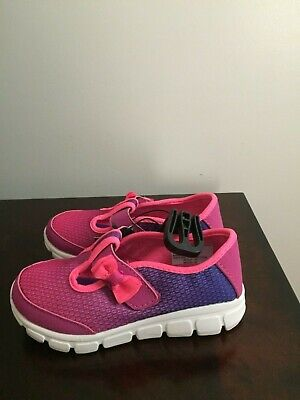 BRAND NEW TODDLER GIRL'S SIZE 9 ATHLETIC WORKS T-STRAP ATHLETIC SHOES - Toddler T Strap Shoes