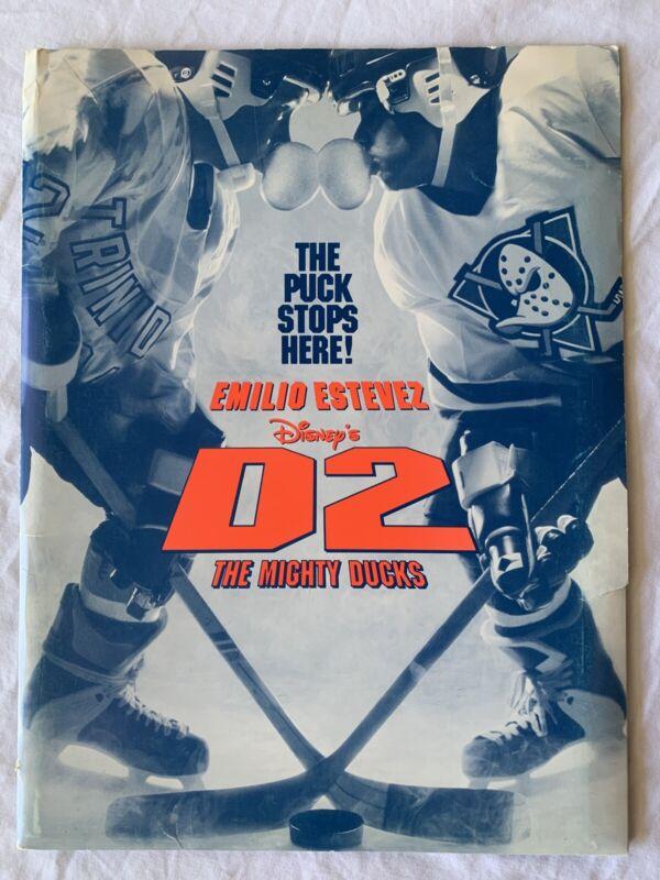 Disney's D2 - The Mighty Ducks Press Release Kit.