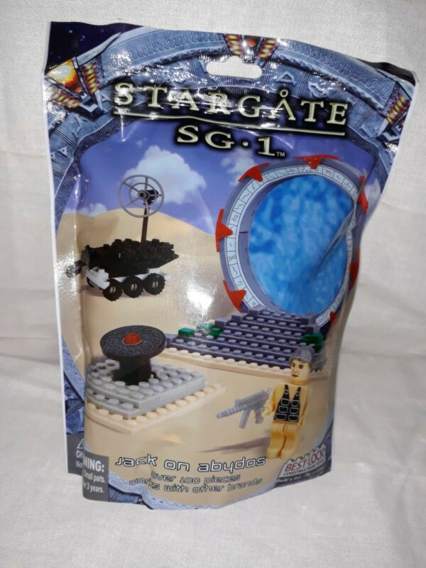 Stargate SG-1 Jack On Abydos - Best Lock Constrution - New - 100+ Pieces